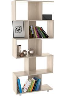 Armário Para Livros Com 5 Nichos Office Plus Appunto - Grigio