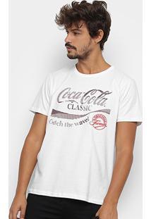 Camiseta Coca-Cola Original Formula Aroma Masculina - Masculino