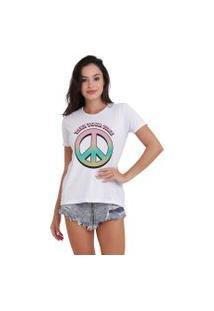 Camiseta Jay Jay Básica Take Your Time Branca