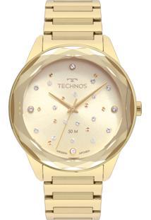 Relógio Technos Feminino Elegance Crystal 2036Mkh/4X