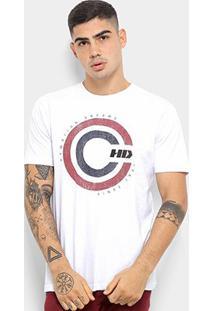 Camiseta Hd Retro Masculina - Masculino-Branco