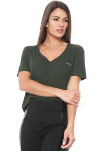 Camiseta Ellus Cotton Gaze Verde