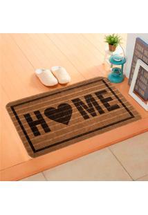 Capacho Carpet Home Marrom