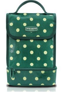 Bolsa Térmica Bolinha Jacki Design Look Verde