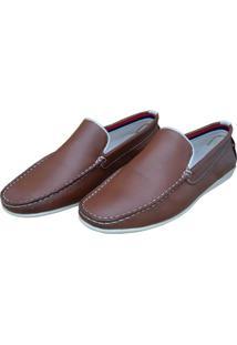 Mocassim Navit Shoes Driver Marrom