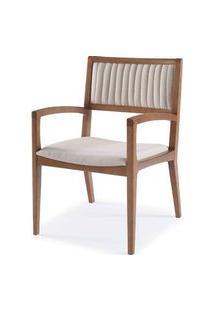 Cadeira Farm Com Bracos Assento E Encosto Estofados - 51166 Preto