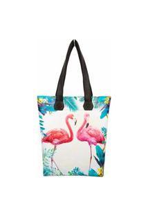 Bolsa Feminina Praia Flamingos, Magicc