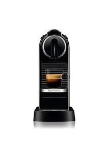 Cafeteira Nespresso Citiz Preta Para Café Espresso - D113Br