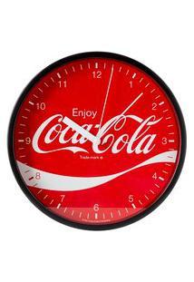 Relógio Parede Coca-Cola 22 Cm