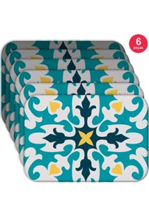 Jogo Americano Love Decor Wevans Mandala Kit Com 6 Pçs