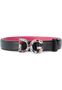Dolce & Gabbana Cinto De Couro - Preto