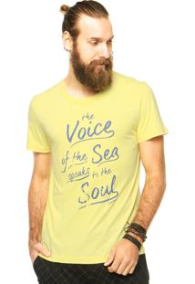 Camiseta Sommer Voice Amarela