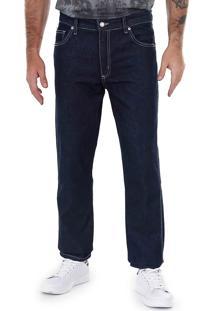 Calça Jeans Reta Masculina Hamuche