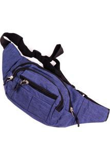 Pochete Prorider Azul Com Preto - Pro2012