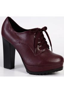Bota Feminina Verniz Ankle Boot Vizzano 1284104