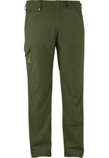 Calça Further Masculino Verde M - Salomon