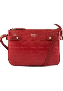 Bolsa Shoulder Bag Feminina Croco Schutz Pop & Fun S500100165