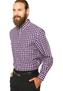 Camisa Perry Ellis Clássic Xadrez