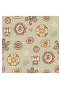 Papel De Parede Autocolante Rolo 0,58 X 5M - Floral 1373