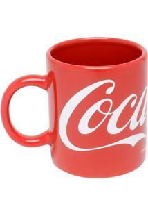 Mini Caneca De Porcelana Coca-Cola Classic Vermelho 140 Ml