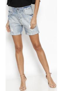 Bermuda Mother Jeans - Azul Claro - Le Lis Blancle Lis Blanc