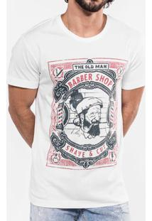 Camiseta The Old Man Barber Shop 103246