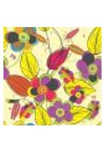 Papel De Parede Autocolante Rolo 0,58 X 3M - Floral 527