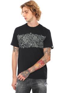 fcf60172f0 ... Camiseta Mcd Estampada Preta