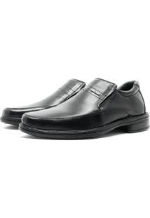 Sapato Di Ferutti Super Light Em Couro Preto