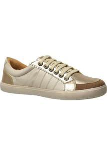 Tênis Feminino 1325 Em Couro Doctor Shoes - Feminino-Off White