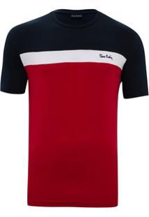 Camiseta Náutica Colors - Masculino-Vermelho
