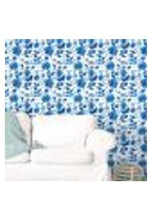 Papel De Parede Autocolante Rolo 0,58 X 3M - Floral 213605350