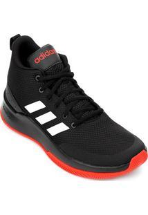 Tênis Cano Alto Adidas Speed End2End Masculino - Masculino-Preto+Vermelho