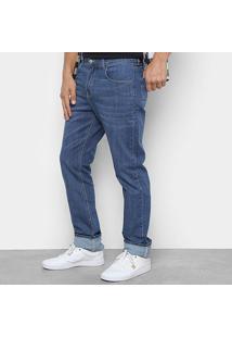Calça Jeans Dc Shoes Worker Blue Masculina - Masculino-Azul