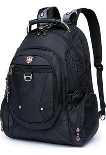 Mochila Swissport Notebook Audipocket 28L - Unissex