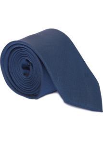 Gravata Basic Textura - Azul