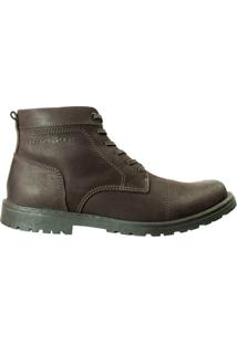 Bota Masculina West Coast Rodeio Brush - Masculino-Marrom