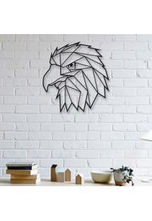 Escultura De Parede A Laser Hawk
