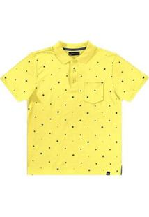 Camisa Rovitex Polo - Masculino-Amarelo