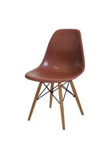 Cadeira Eames Dkr Café Or Design Marrom
