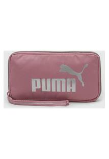 Pochete Puma Core Up Sling Bag Rosa