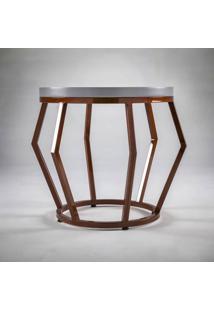 Mesa De Apoio Garden Estrutura Em Aço Design By Studio Artesian