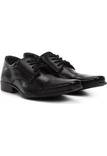 Sapato Social Walkabout S1 Masculino - Masculino-Preto