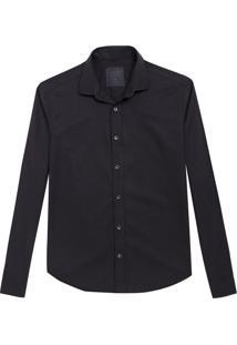 Camisa John John Regular Black Preto Masculina (Preto, M)