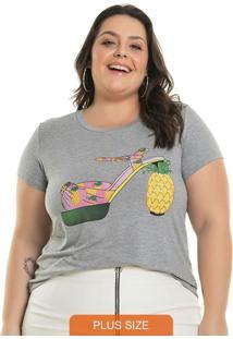 Blusa Pineapple Cinza