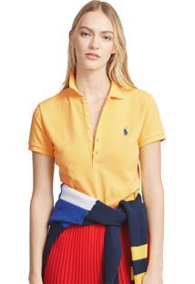 Camisa Polo Polo Ralph Lauren Slim Amarela