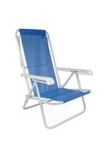 Cadeira Reclinavel 8 Posições Anis Azul