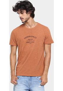 Camiseta Forum Premium Quality - Masculino-Caramelo