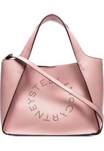 Stella Mccartney Bolsa Tote Com Logo - Rosa