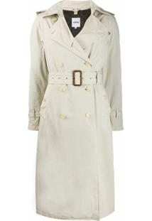 Aspesi Trench Coat Oversized - Neutro